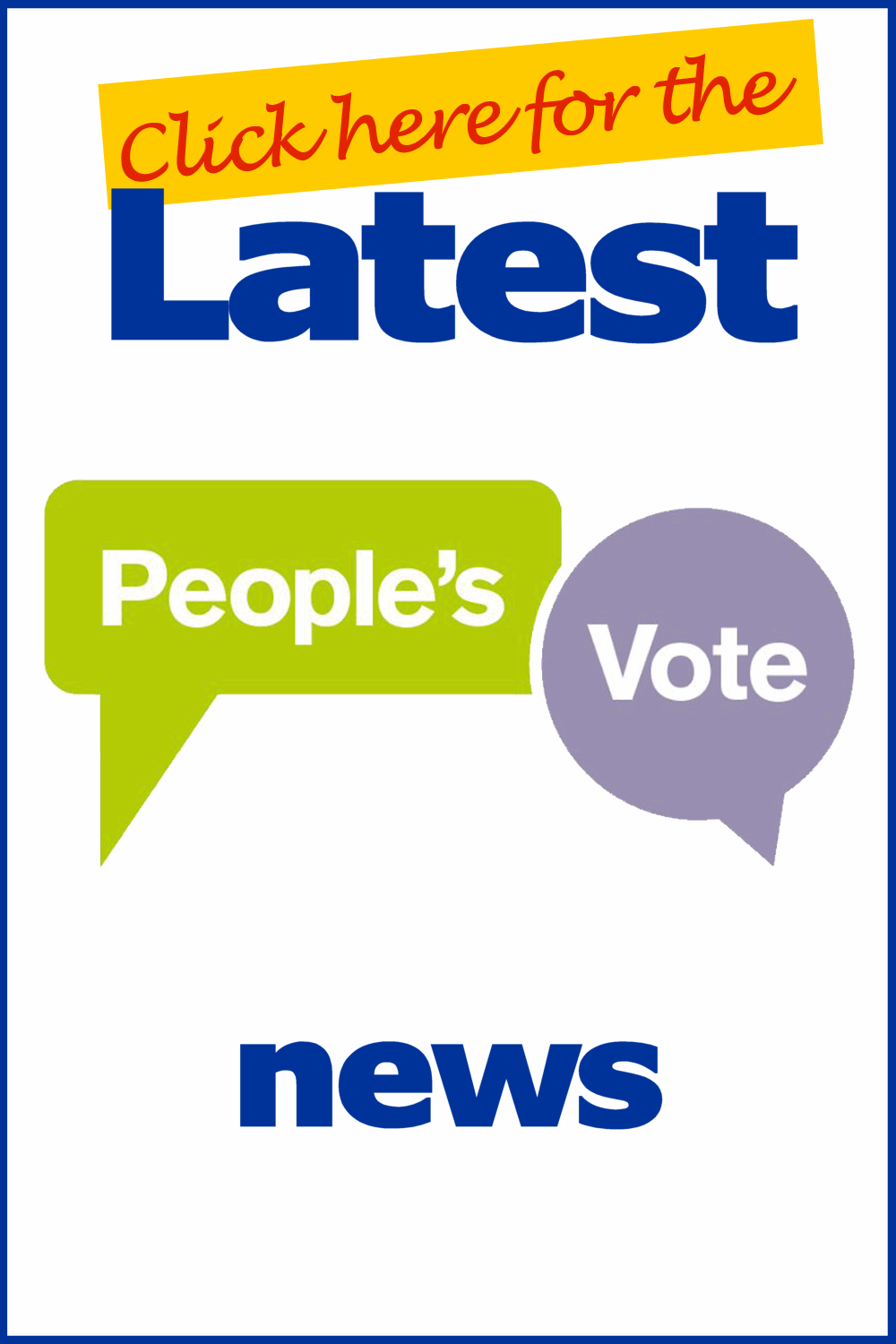 People's Vote news